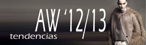 Tendencias AW 12/13